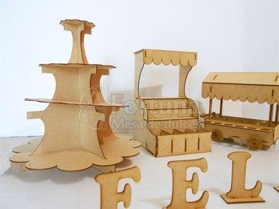 Kit para mesa de postres