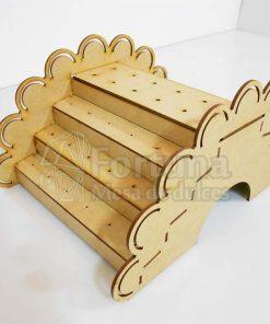 Puente de paletas dulcero para mesa de postres