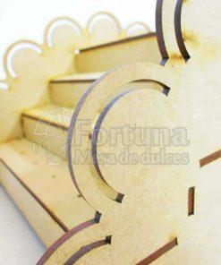 detalle de puente de paletas