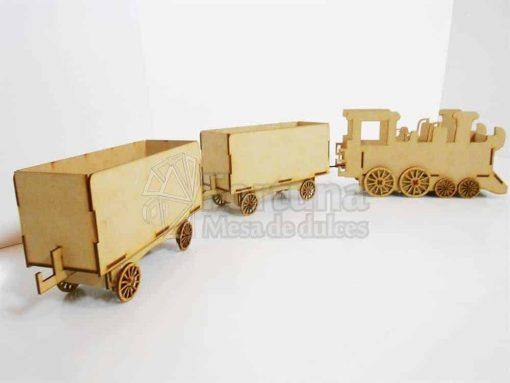 Vagones de tren dulcero
