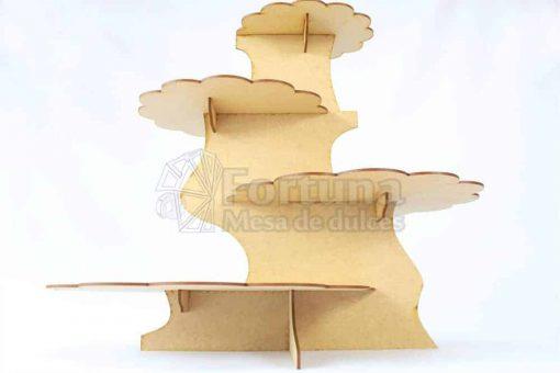 Base desfasada para cupcakes uso ideal en mesa de dulces para bodas