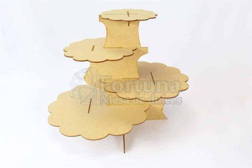 Base desfasada ideal como accesorio para mesa de dulces xv años