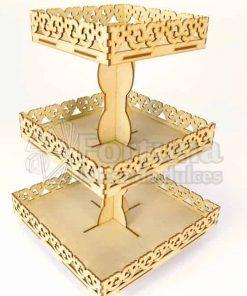 Base para cupcakes que puede ser utilizada en mesa de dulces para xv años