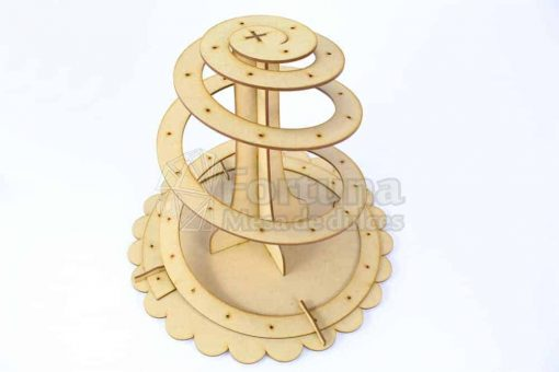 Espiral para mesa de dulces, la base perfecta para paletas