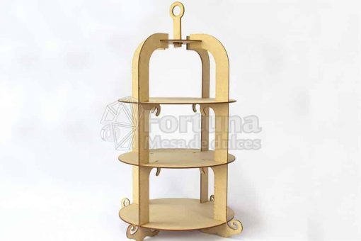 Accesorio como base para cupcajes pajarera