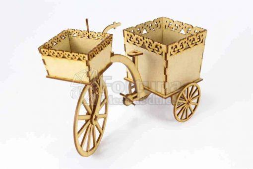 triciclo centro de mesa