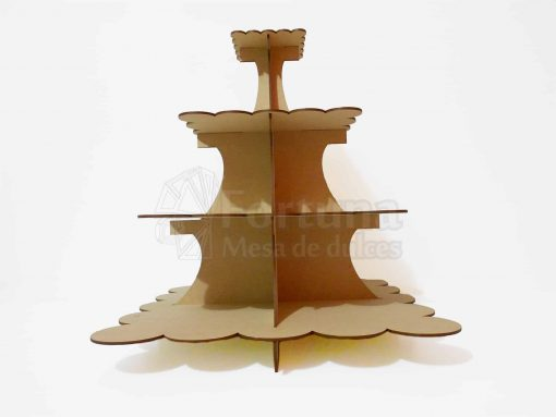 bases cuadrada para cupcakes