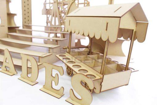carrito dulcero mesa de dulces